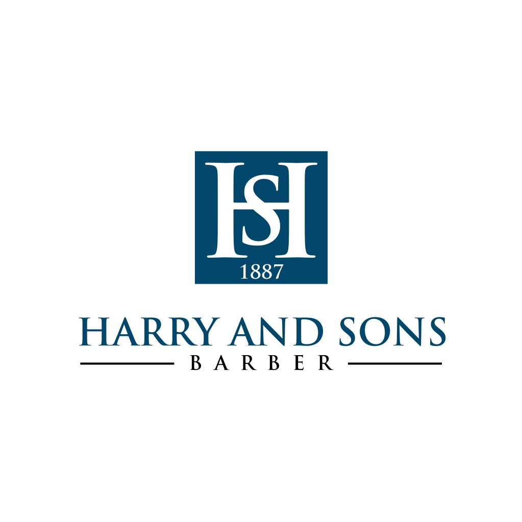 Logo Design by untung - Entry No. 104 in the Logo Design Contest Captivating Logo Design for Harry and Sons Barber.