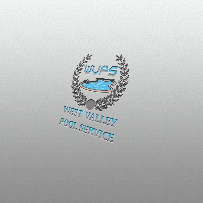 Logo Design by Umair ahmed Iqbal - Entry No. 87 in the Logo Design Contest Clever Logo Design for West Valley Pool Service.