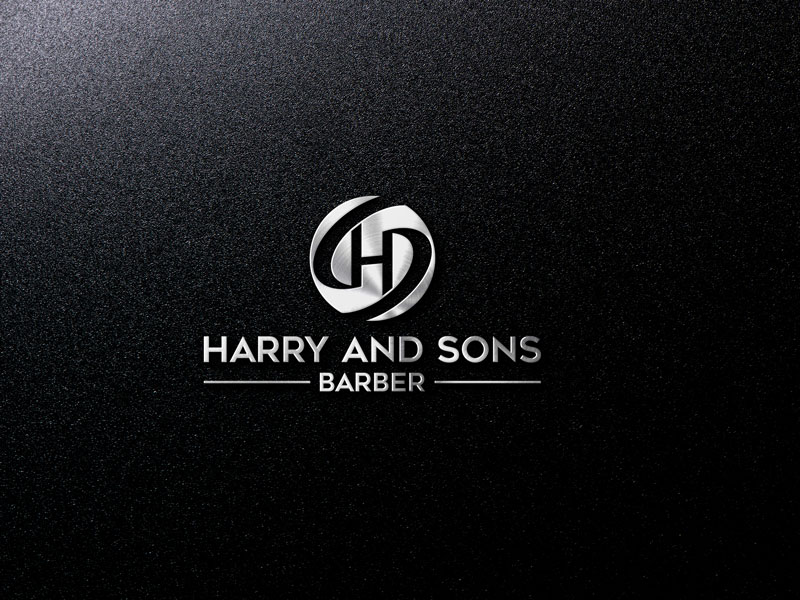Logo Design by ARABICA Ibrahim - Entry No. 112 in the Logo Design Contest Captivating Logo Design for Harry and Sons Barber.