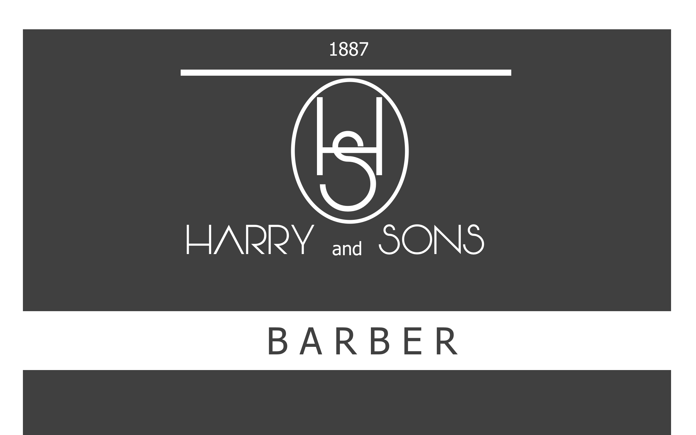 Logo Design by Roberto Bassi - Entry No. 129 in the Logo Design Contest Captivating Logo Design for Harry and Sons Barber.