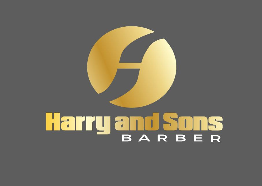 Logo Design by Wilfred Ponseca - Entry No. 139 in the Logo Design Contest Captivating Logo Design for Harry and Sons Barber.