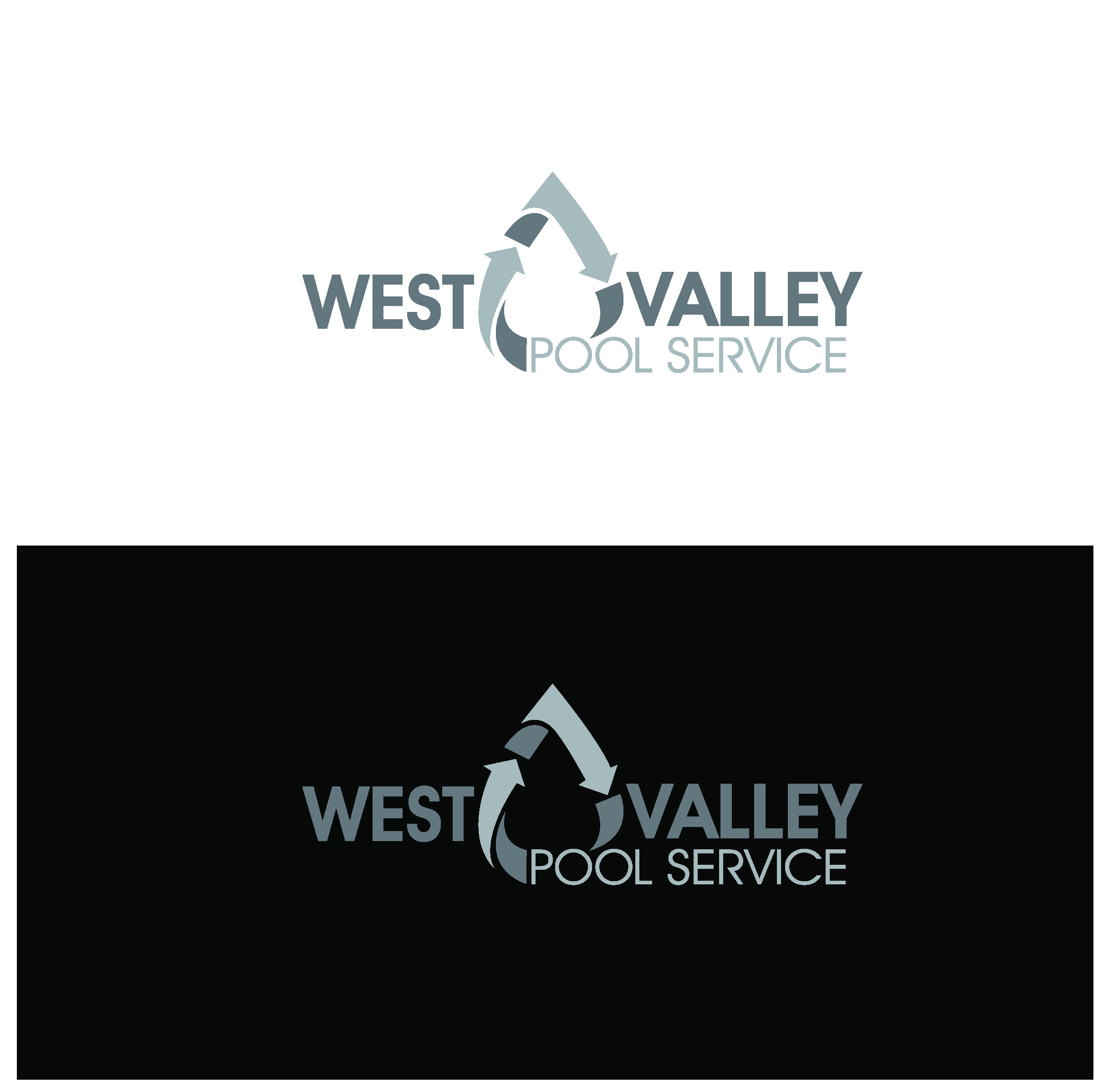Logo Design by Sampath Gunathilaka - Entry No. 92 in the Logo Design Contest Clever Logo Design for West Valley Pool Service.