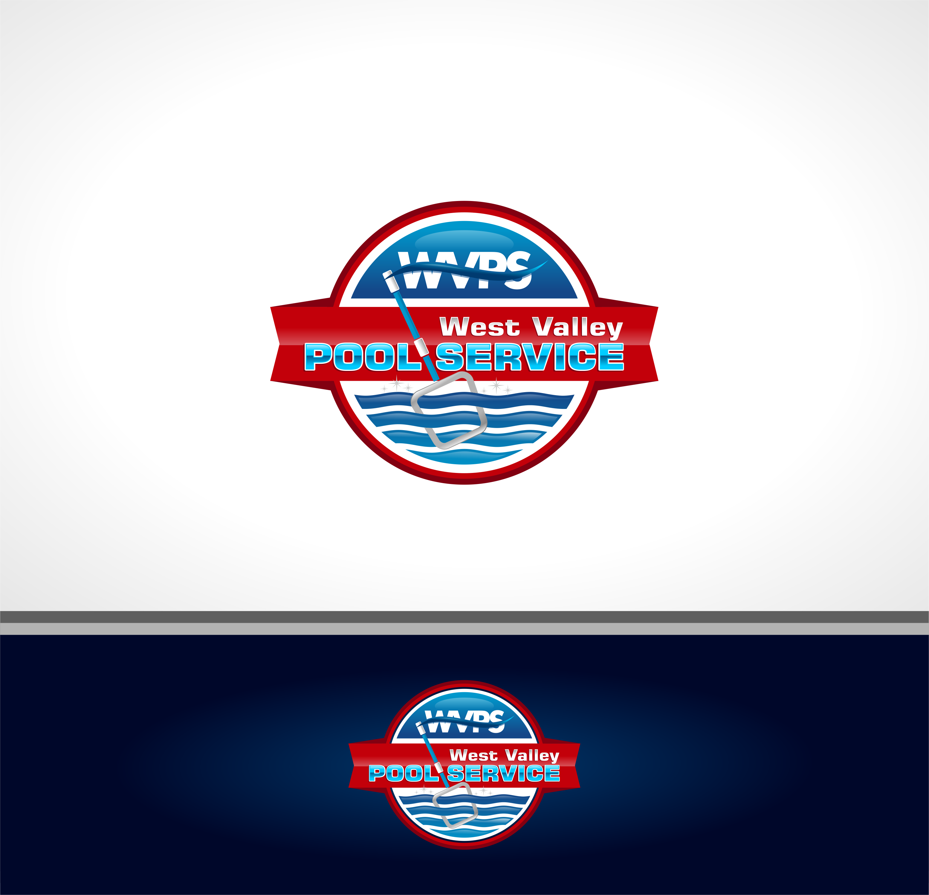 Logo Design by Raymond Garcia - Entry No. 99 in the Logo Design Contest Clever Logo Design for West Valley Pool Service.