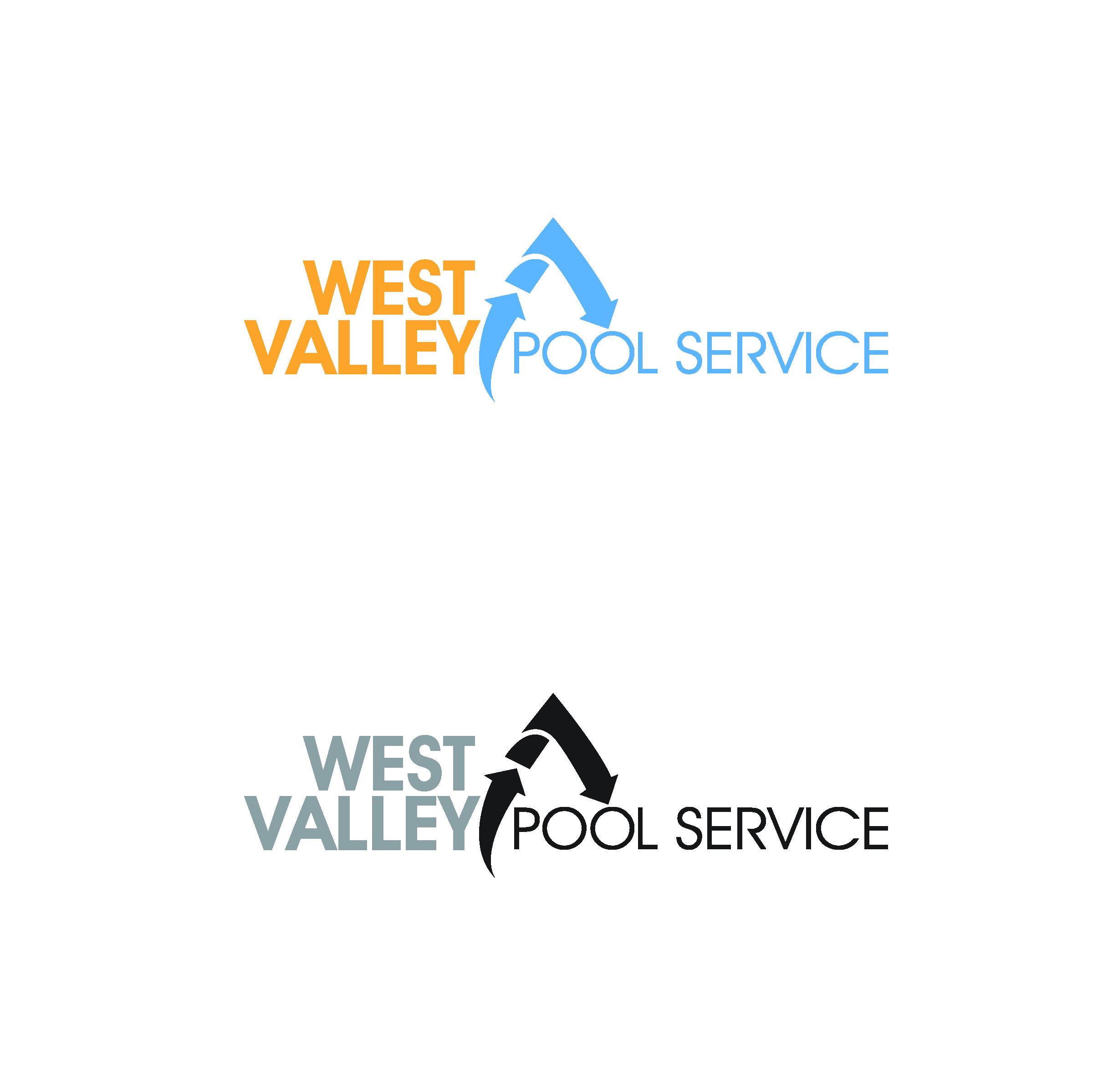Logo Design by Sampath Gunathilaka - Entry No. 101 in the Logo Design Contest Clever Logo Design for West Valley Pool Service.