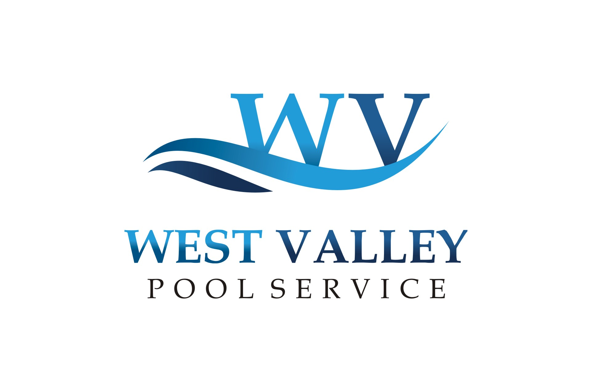 Logo Design by Karthick Flygraphics - Entry No. 102 in the Logo Design Contest Clever Logo Design for West Valley Pool Service.