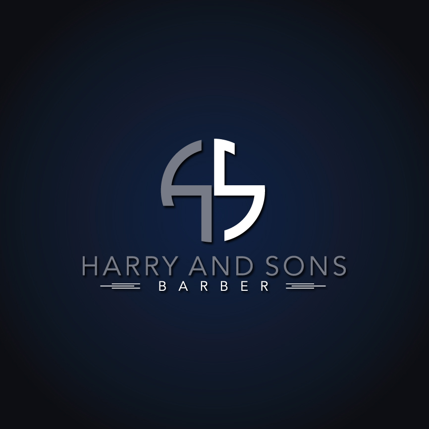 Logo Design by RasYa Muhammad Athaya - Entry No. 152 in the Logo Design Contest Captivating Logo Design for Harry and Sons Barber.