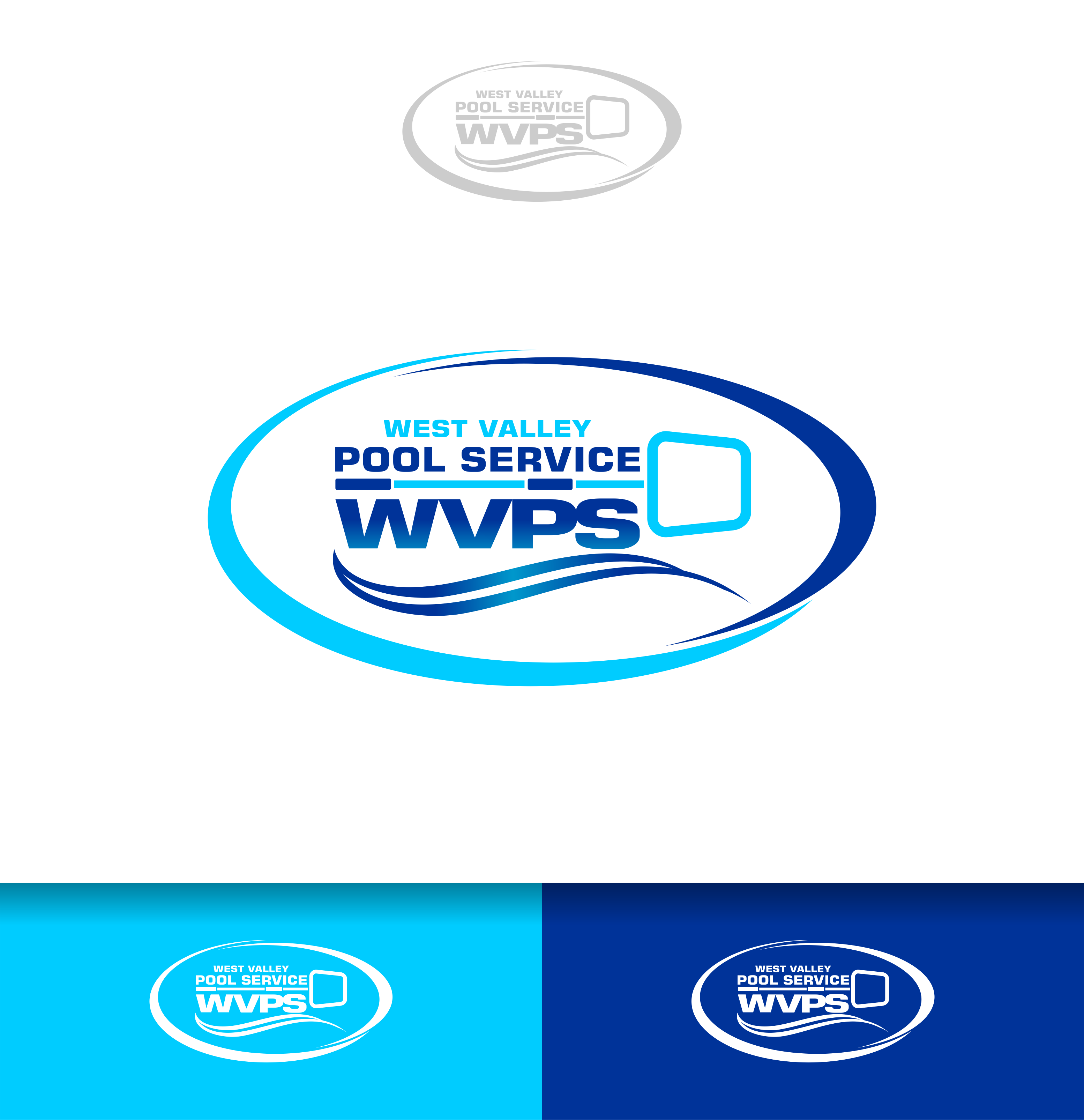 Logo Design by Raymond Garcia - Entry No. 106 in the Logo Design Contest Clever Logo Design for West Valley Pool Service.