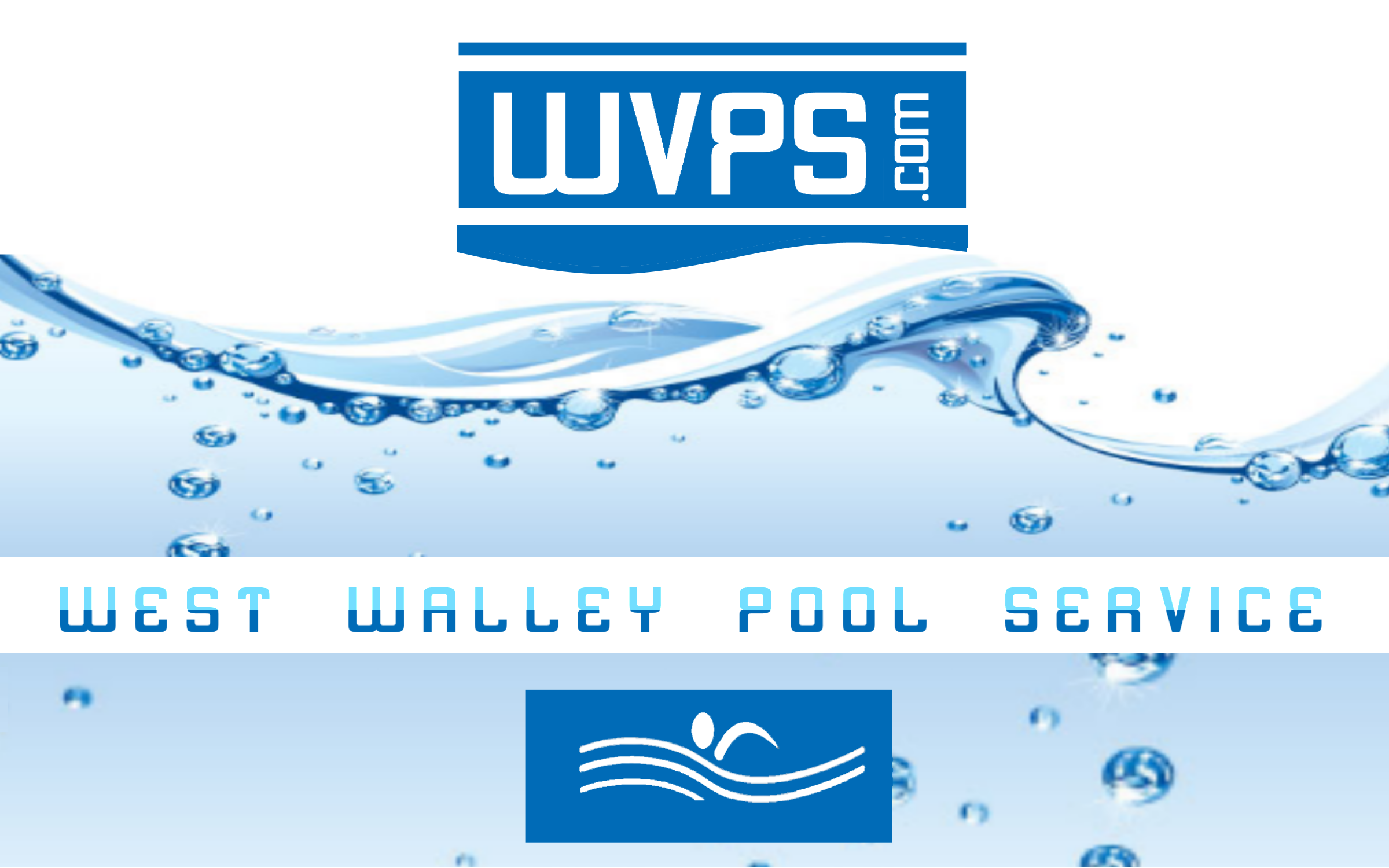 Logo Design by Roberto Bassi - Entry No. 108 in the Logo Design Contest Clever Logo Design for West Valley Pool Service.