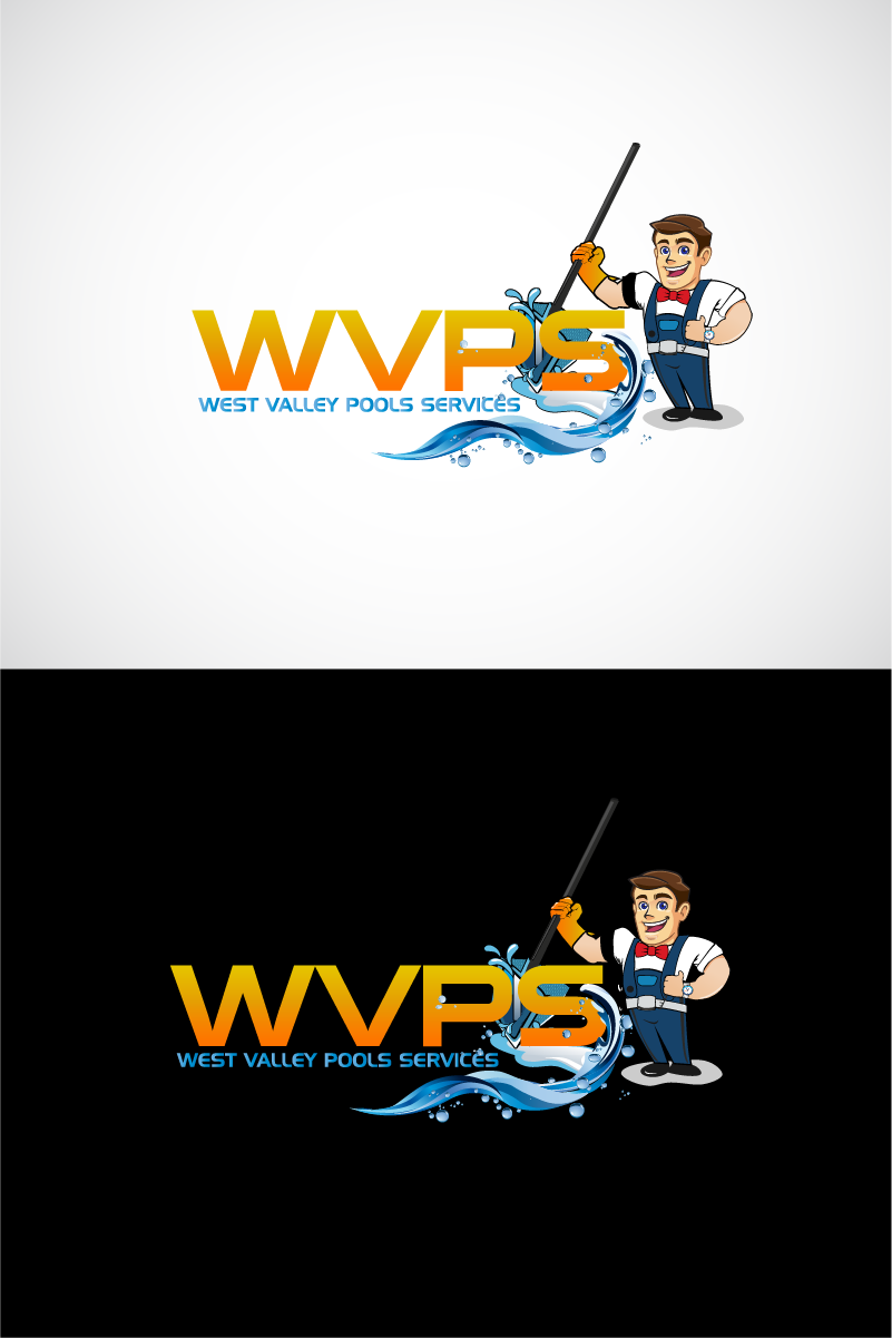 Logo Design by Private User - Entry No. 111 in the Logo Design Contest Clever Logo Design for West Valley Pool Service.