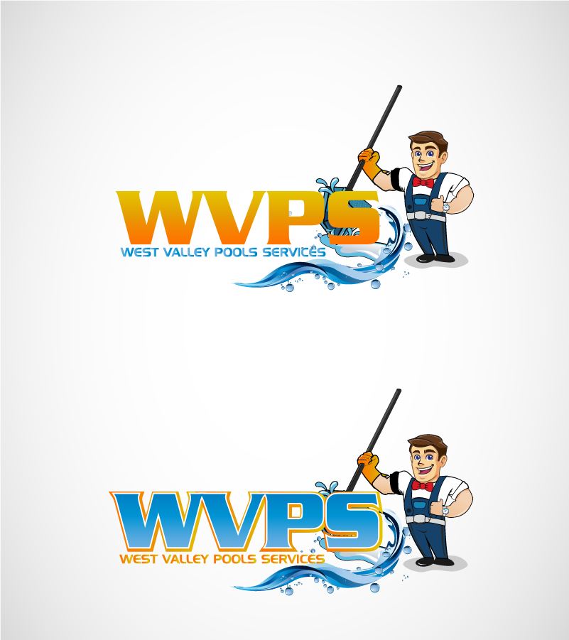 Logo Design by Private User - Entry No. 112 in the Logo Design Contest Clever Logo Design for West Valley Pool Service.