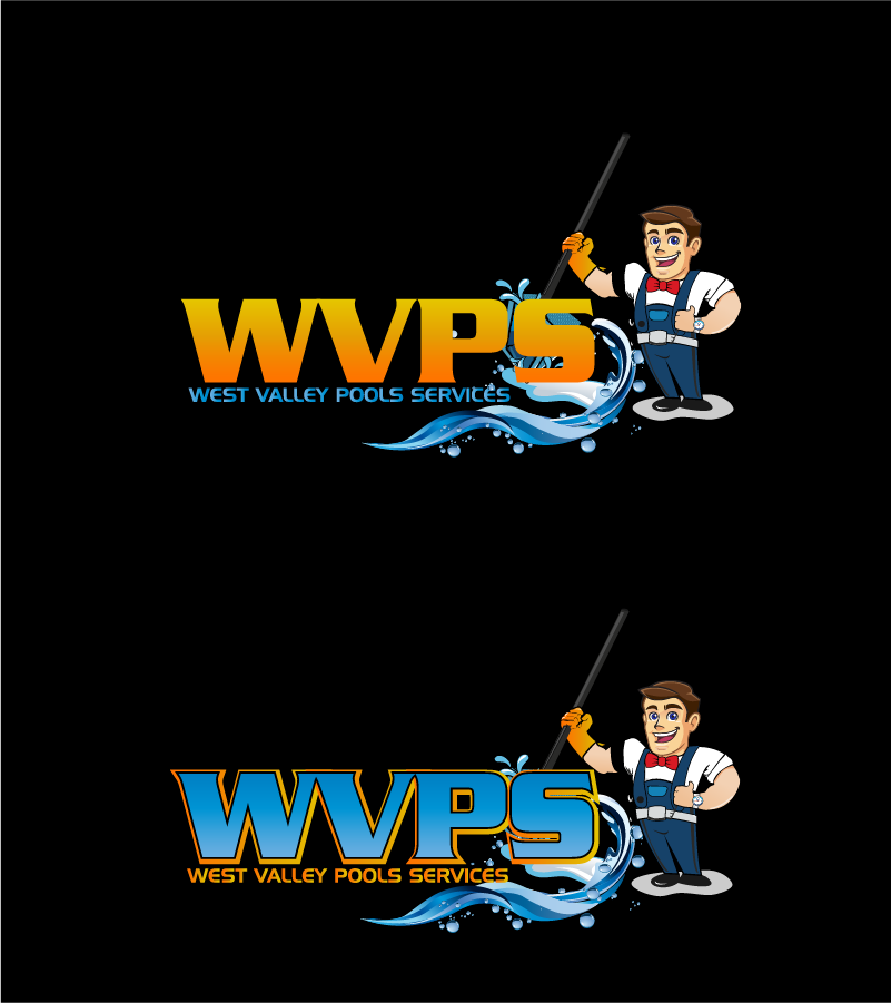 Logo Design by Private User - Entry No. 114 in the Logo Design Contest Clever Logo Design for West Valley Pool Service.