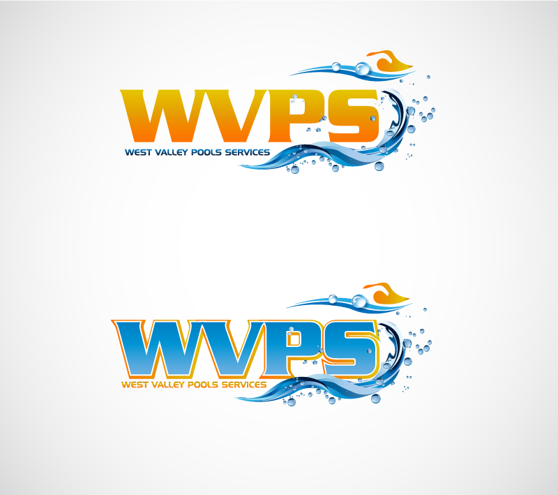 Logo Design by Private User - Entry No. 115 in the Logo Design Contest Clever Logo Design for West Valley Pool Service.