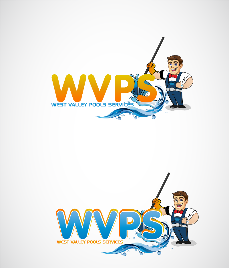 Logo Design by Private User - Entry No. 116 in the Logo Design Contest Clever Logo Design for West Valley Pool Service.