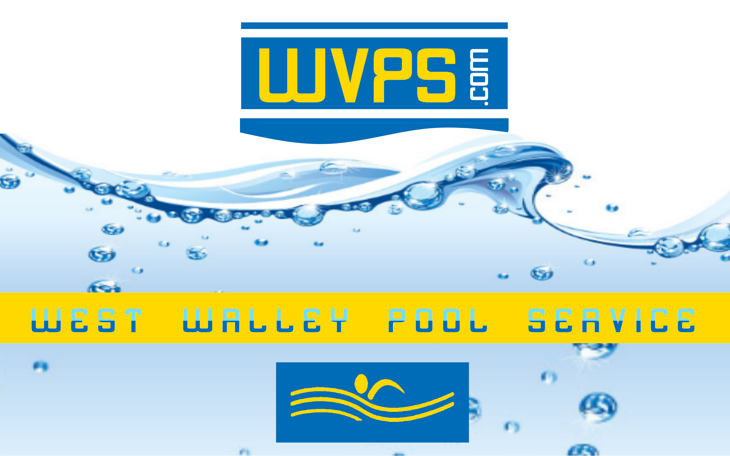 Logo Design by Roberto Bassi - Entry No. 119 in the Logo Design Contest Clever Logo Design for West Valley Pool Service.