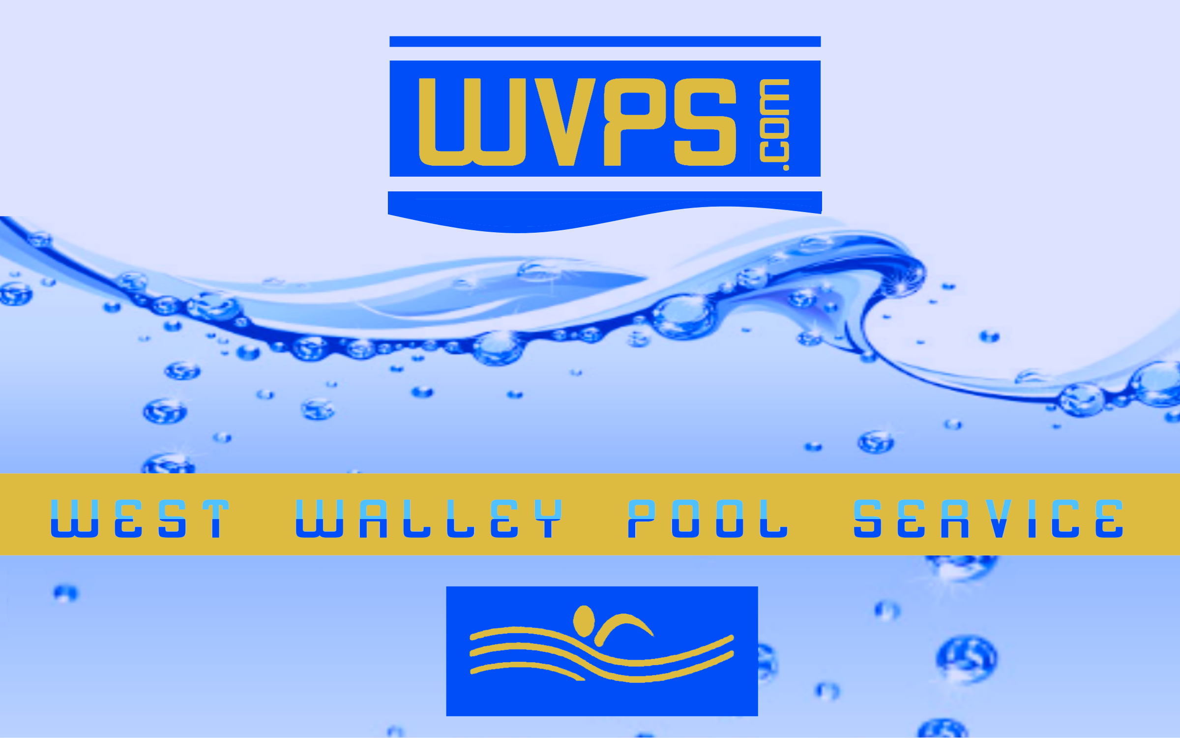 Logo Design by Roberto Bassi - Entry No. 120 in the Logo Design Contest Clever Logo Design for West Valley Pool Service.