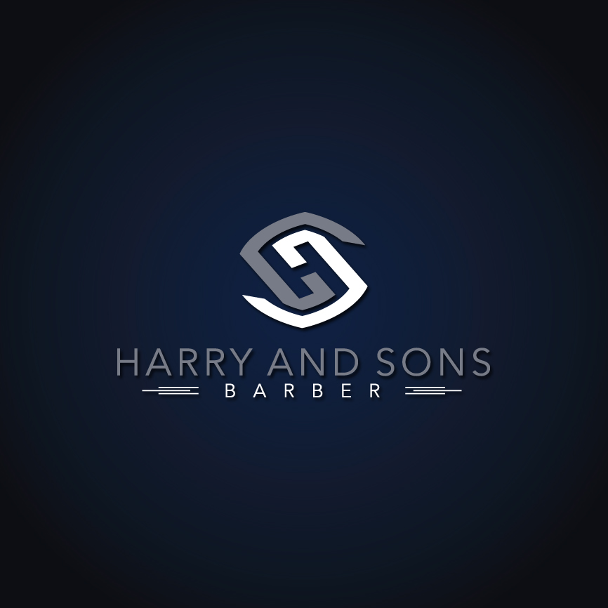 Logo Design by RasYa Muhammad Athaya - Entry No. 166 in the Logo Design Contest Captivating Logo Design for Harry and Sons Barber.