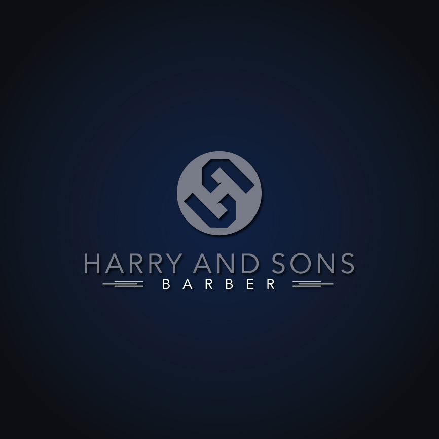 Logo Design by RasYa Muhammad Athaya - Entry No. 167 in the Logo Design Contest Captivating Logo Design for Harry and Sons Barber.