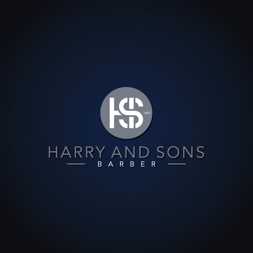 Logo Design by RasYa Muhammad Athaya - Entry No. 170 in the Logo Design Contest Captivating Logo Design for Harry and Sons Barber.