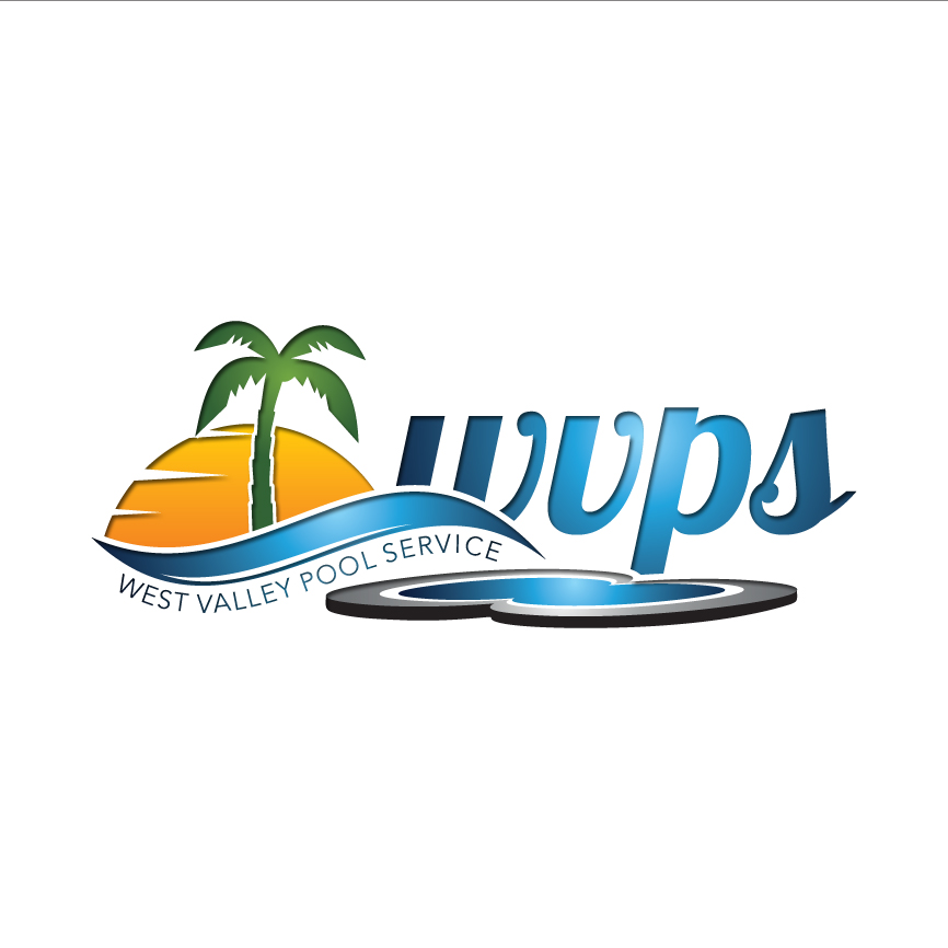 Logo Design by RasYa Muhammad Athaya - Entry No. 128 in the Logo Design Contest Clever Logo Design for West Valley Pool Service.