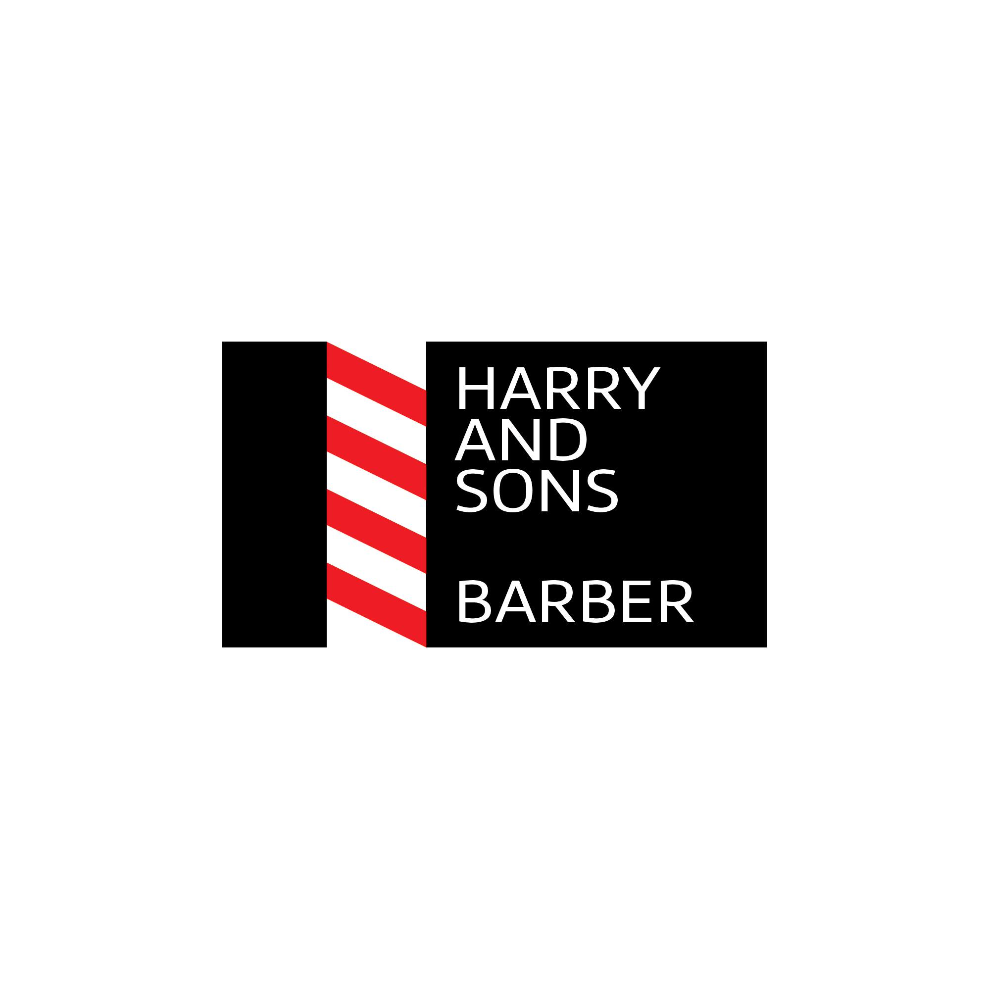 Logo Design by bildix - Entry No. 177 in the Logo Design Contest Captivating Logo Design for Harry and Sons Barber.