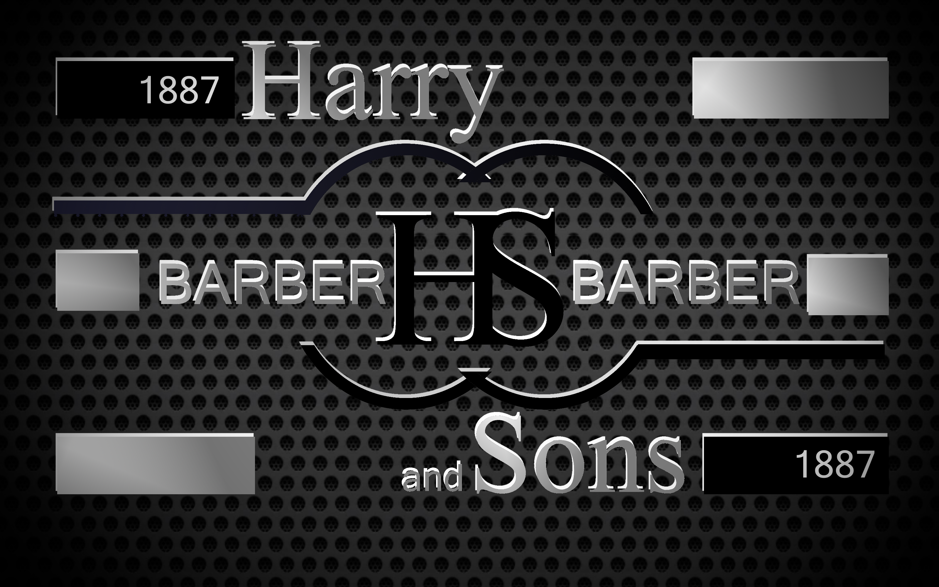 Logo Design by Roberto Bassi - Entry No. 178 in the Logo Design Contest Captivating Logo Design for Harry and Sons Barber.