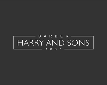 Logo Design by Rasya Malik - Entry No. 180 in the Logo Design Contest Captivating Logo Design for Harry and Sons Barber.