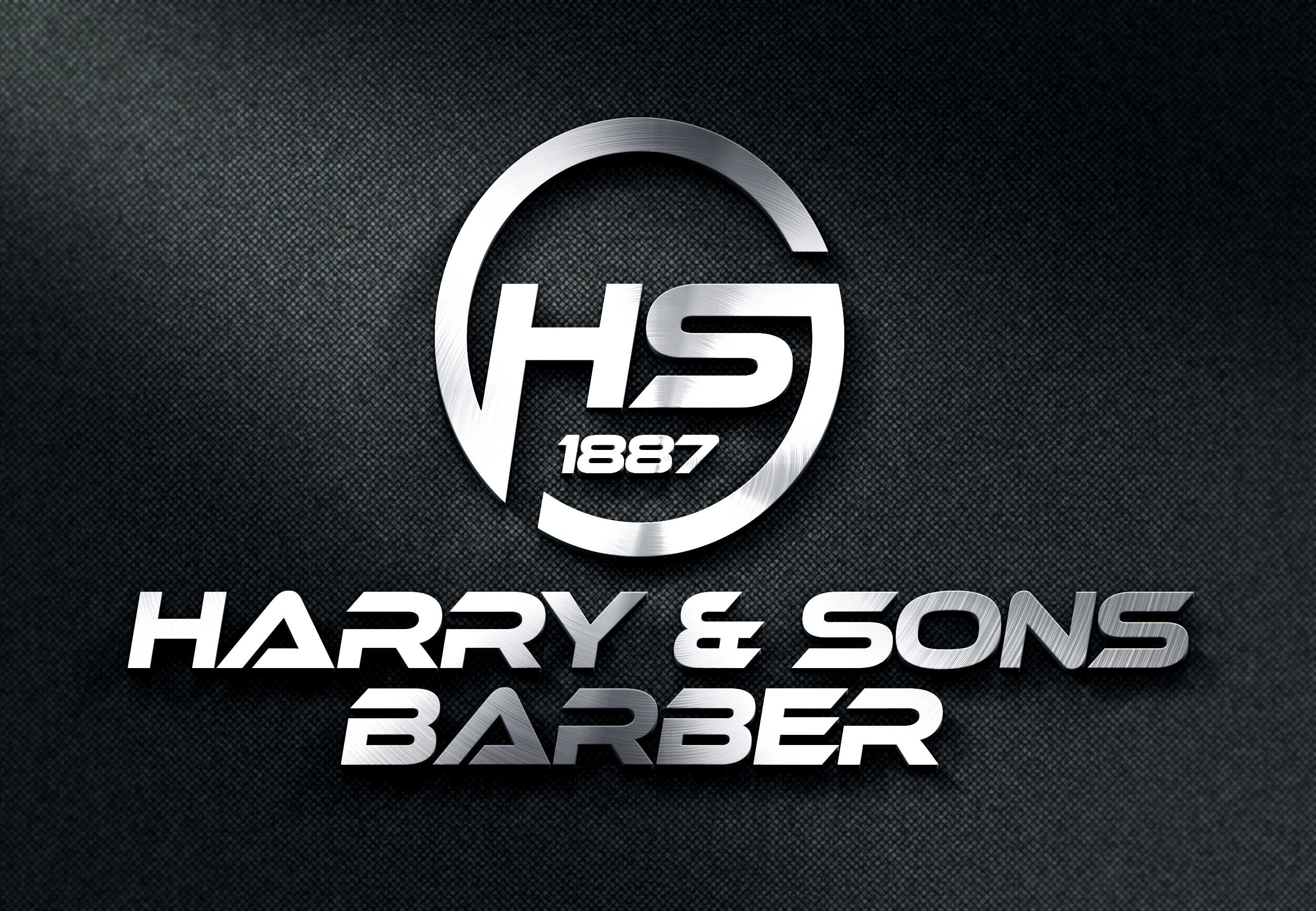 Logo Design by Private User - Entry No. 186 in the Logo Design Contest Captivating Logo Design for Harry and Sons Barber.