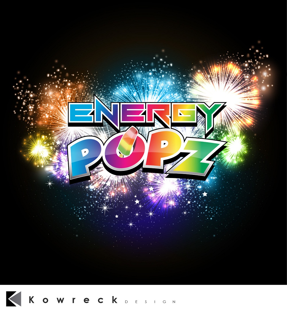 Logo Design by kowreck - Entry No. 41 in the Logo Design Contest Energy Popz Logo Design.