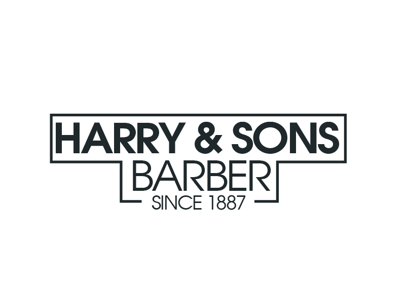 Logo Design by Private User - Entry No. 188 in the Logo Design Contest Captivating Logo Design for Harry and Sons Barber.