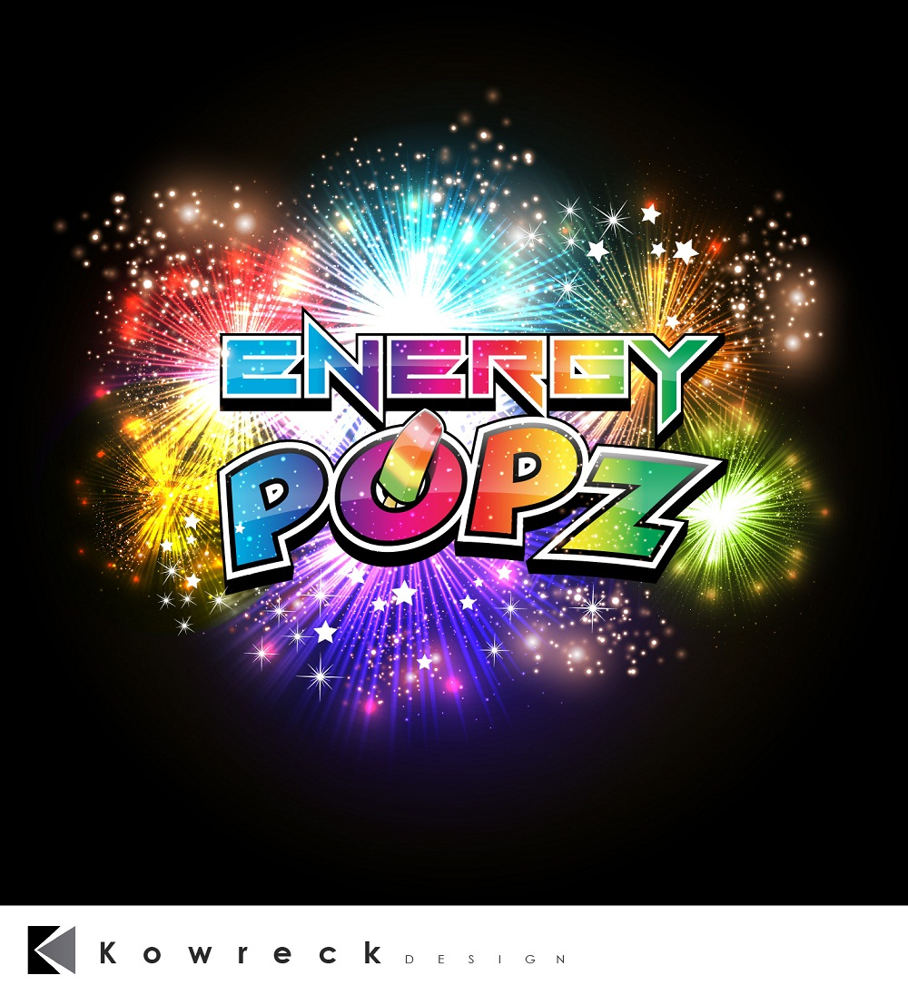 Logo Design by kowreck - Entry No. 45 in the Logo Design Contest Energy Popz Logo Design.