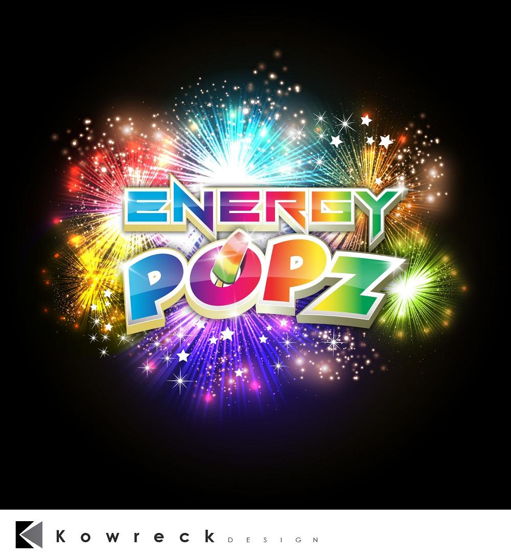 Logo Design by kowreck - Entry No. 47 in the Logo Design Contest Energy Popz Logo Design.