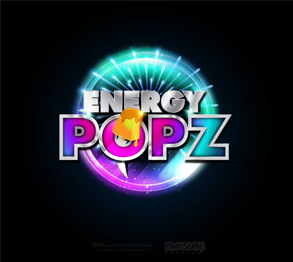 Logo Design by pandisenyo - Entry No. 54 in the Logo Design Contest Energy Popz Logo Design.