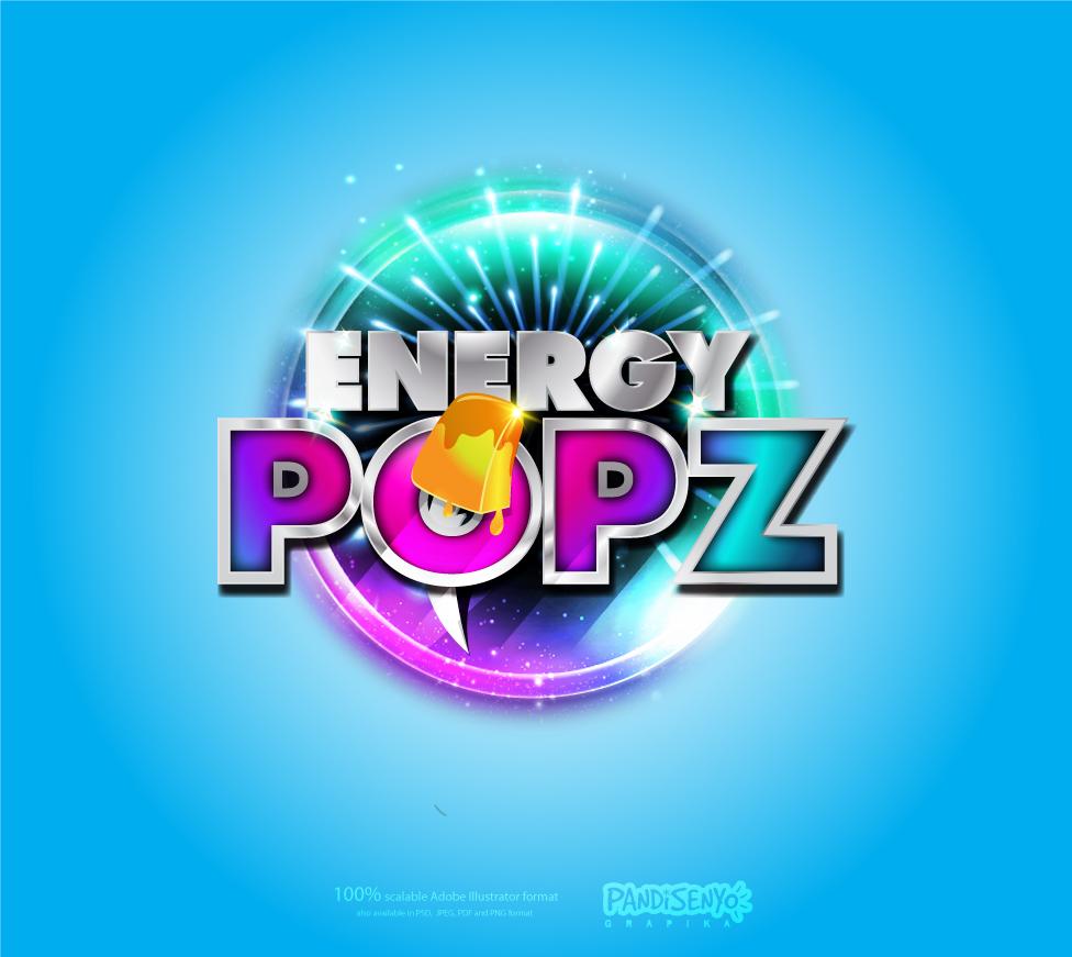 Logo Design by pandisenyo - Entry No. 55 in the Logo Design Contest Energy Popz Logo Design.