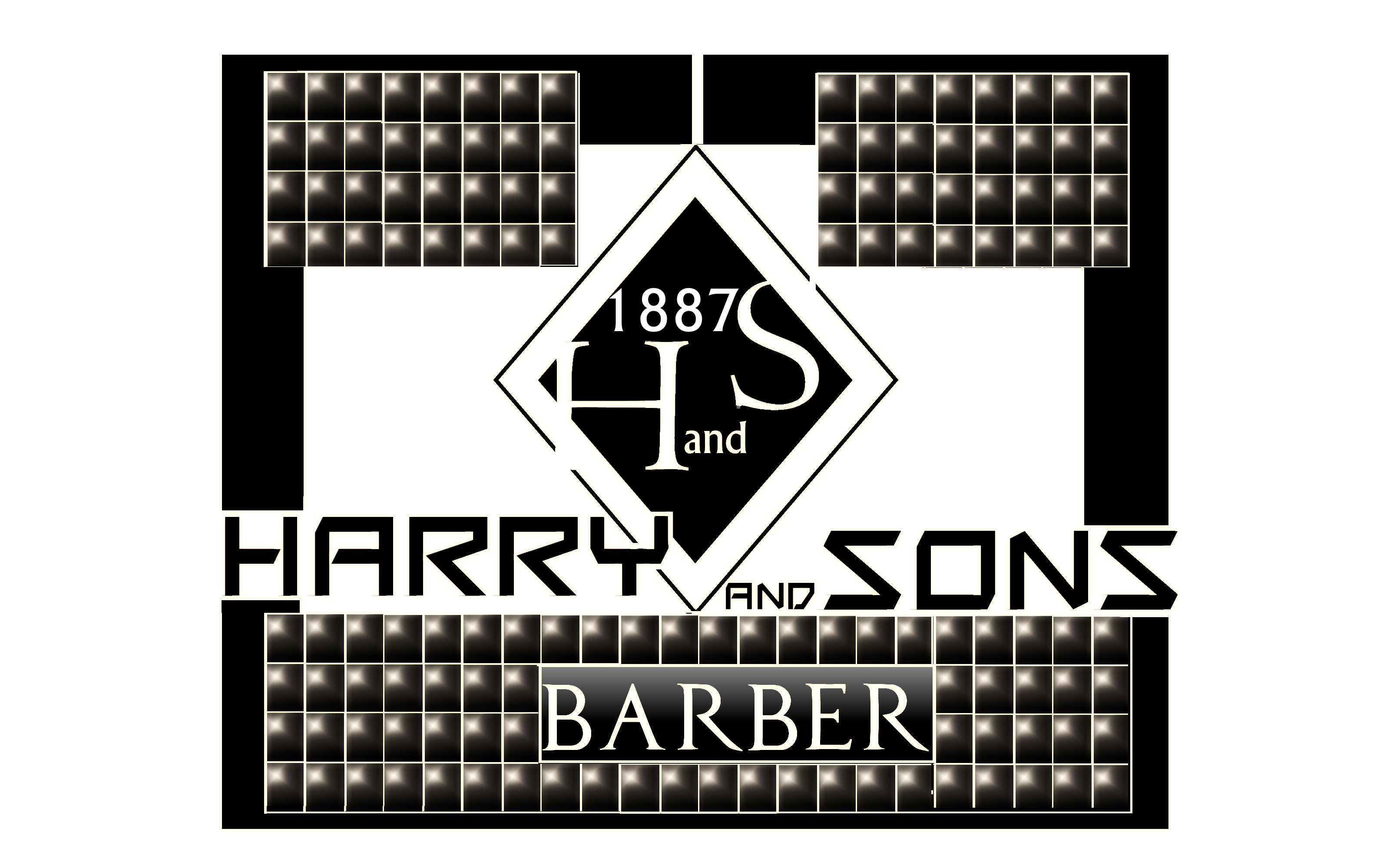 Logo Design by Roberto Bassi - Entry No. 205 in the Logo Design Contest Captivating Logo Design for Harry and Sons Barber.