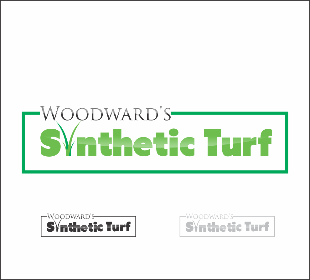 Logo Design by snow - Entry No. 3 in the Logo Design Contest Artistic Logo Design for Woodward's Synthetic Turf.
