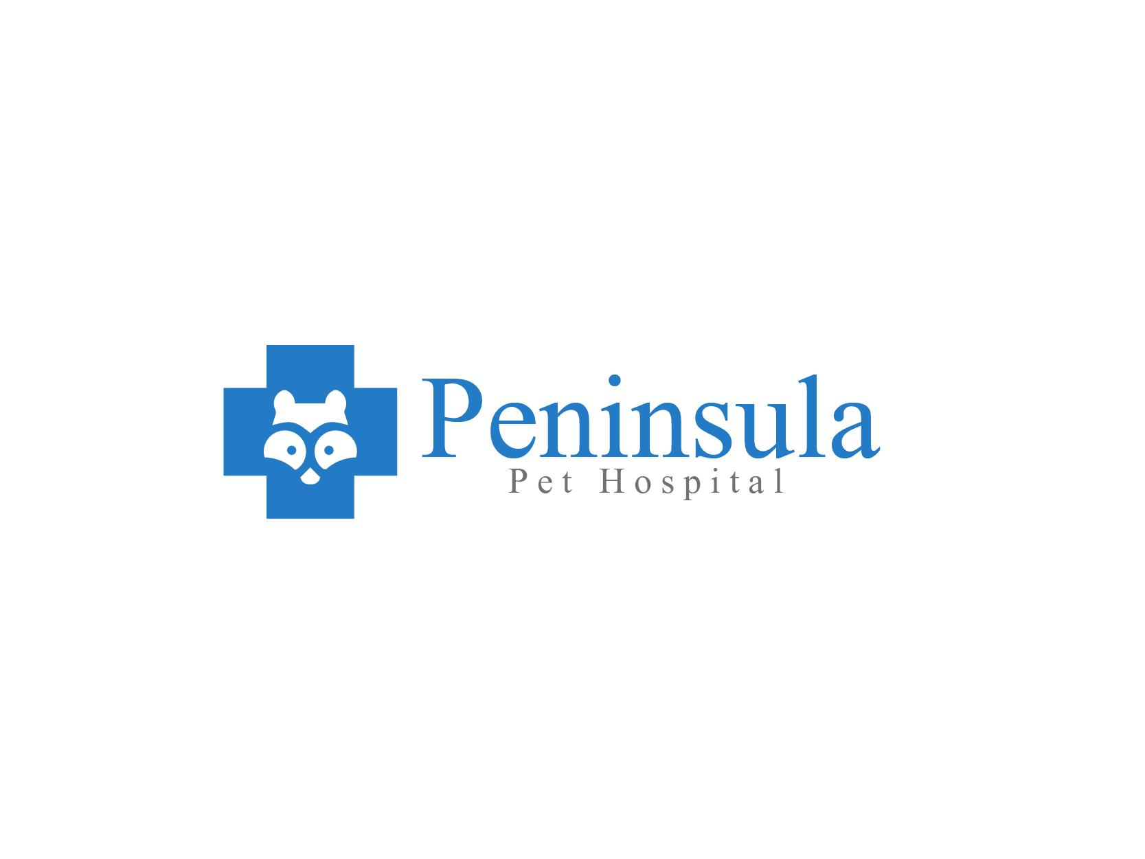 Logo Design by Private User - Entry No. 2 in the Logo Design Contest Creative Logo Design for Peninsula Pet Hospital.