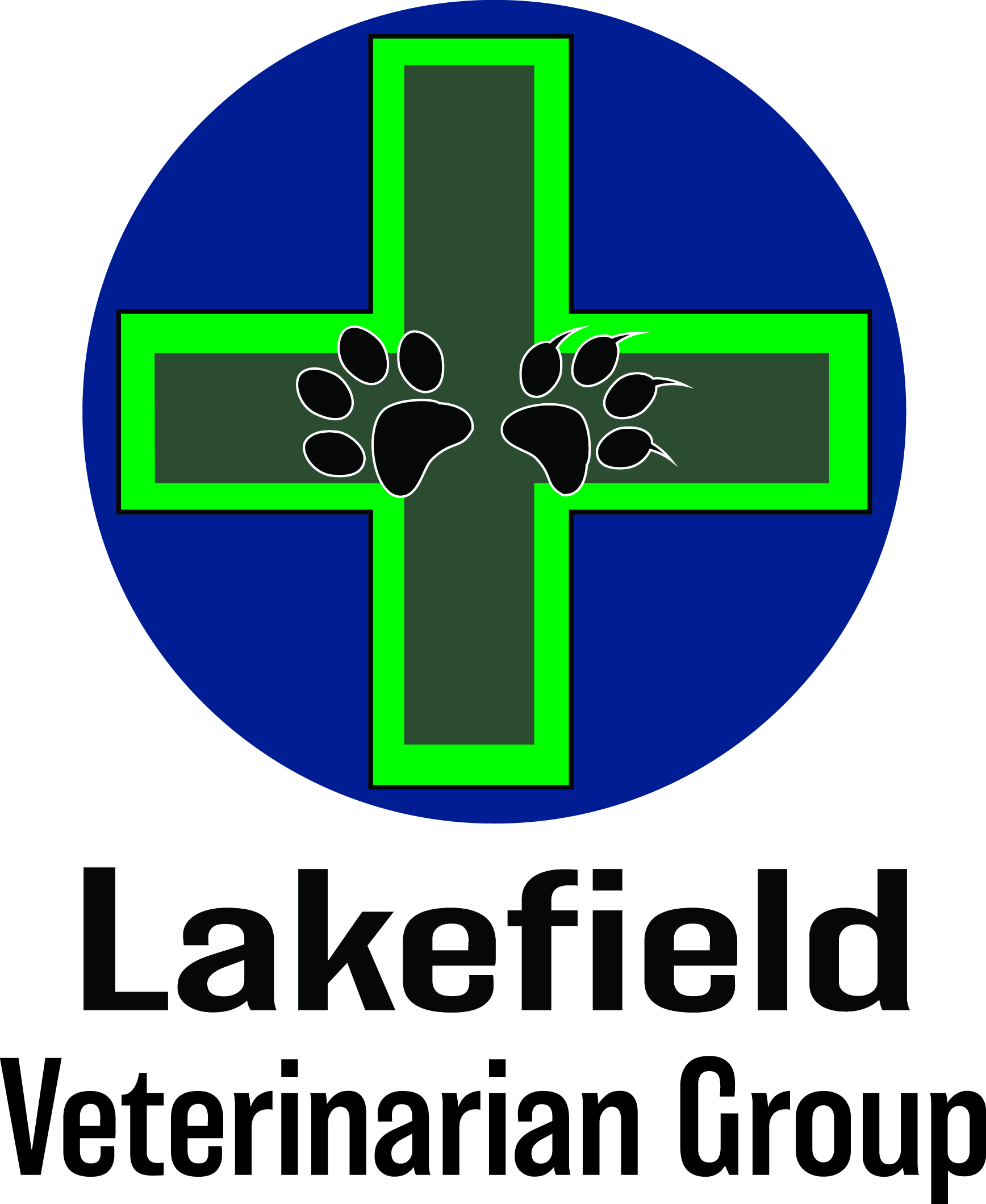 Logo Design by John Suits - Entry No. 1 in the Logo Design Contest Inspiring Logo Design for Lakefield Veterinary Group.