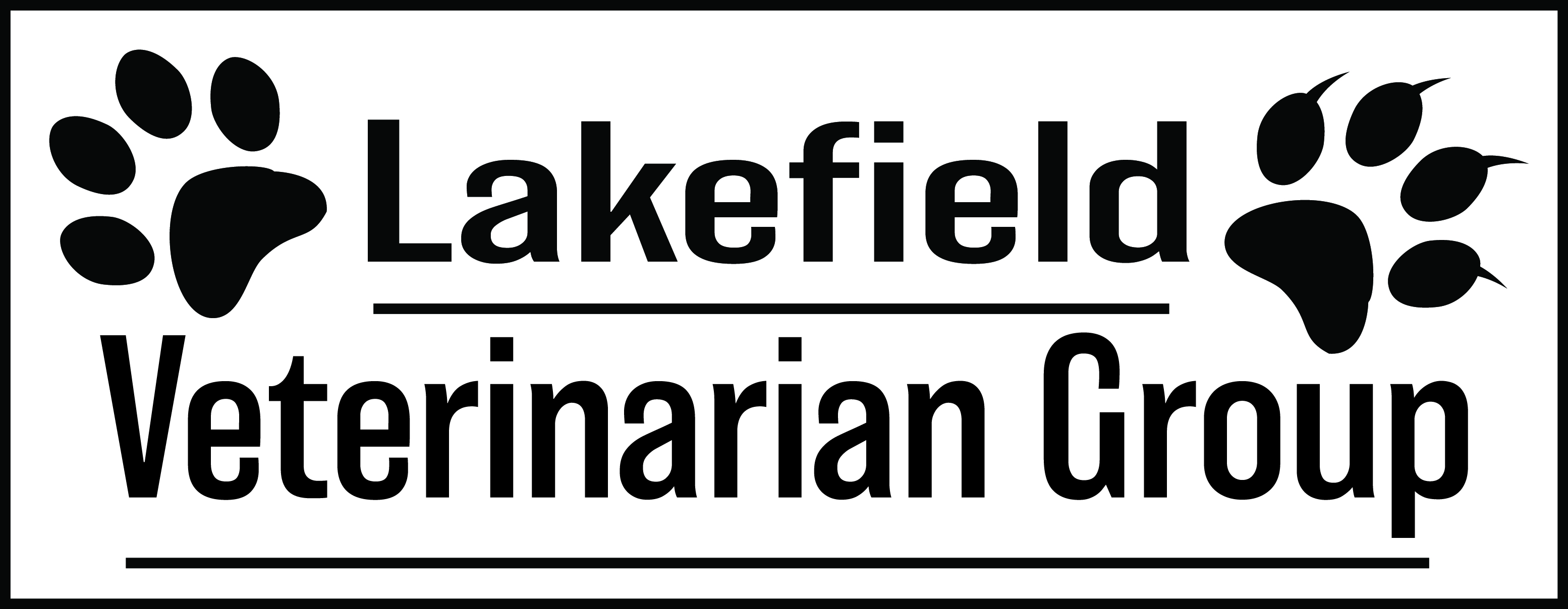 Logo Design by John Suits - Entry No. 2 in the Logo Design Contest Inspiring Logo Design for Lakefield Veterinary Group.