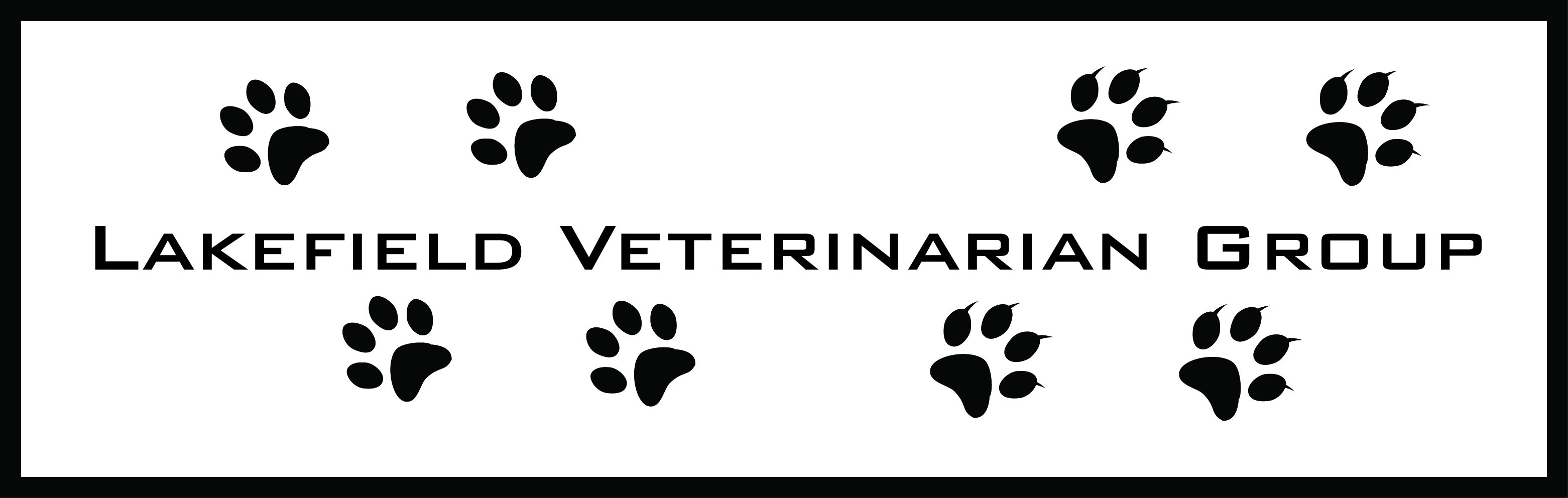 Logo Design by John Suits - Entry No. 3 in the Logo Design Contest Inspiring Logo Design for Lakefield Veterinary Group.