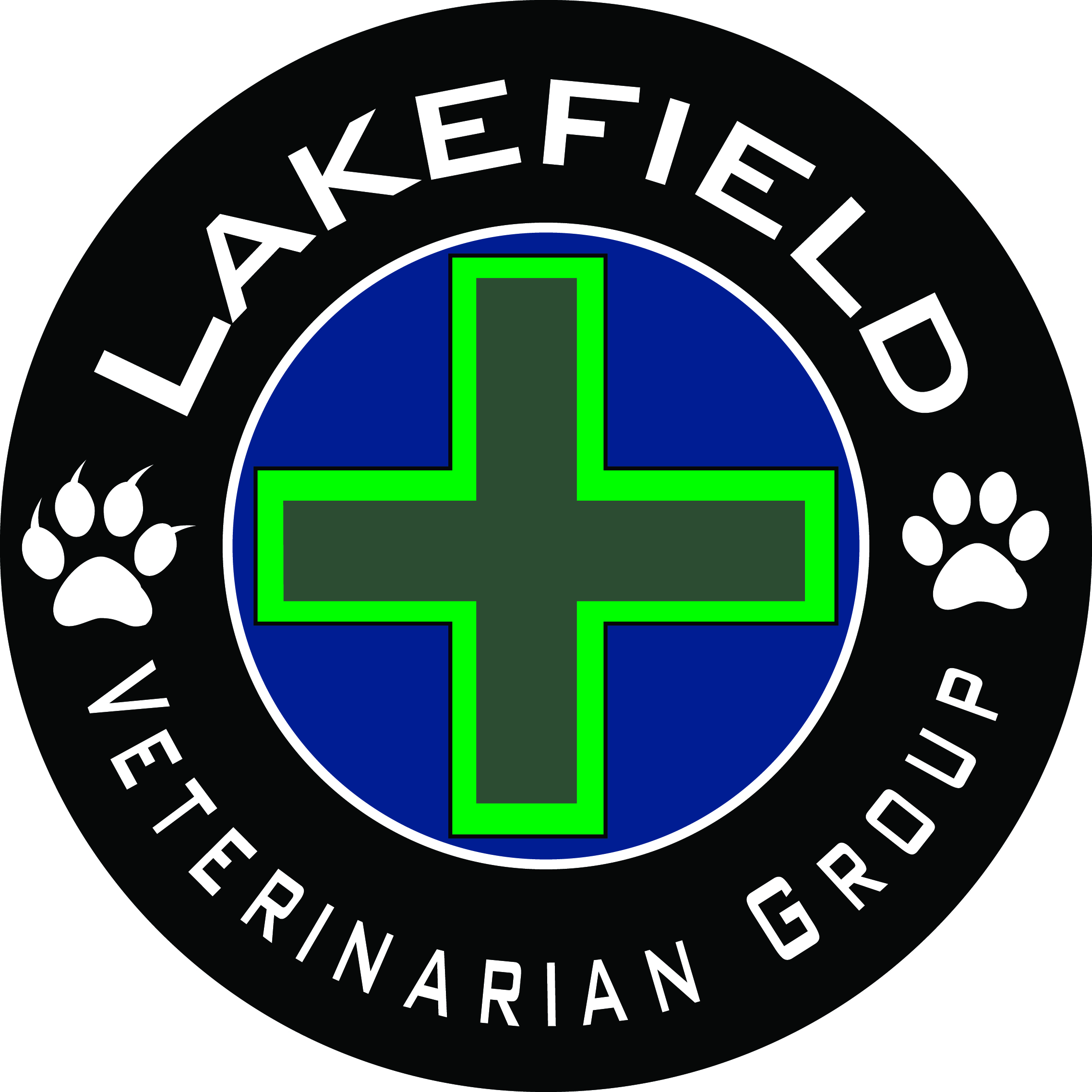 Logo Design by John Suits - Entry No. 4 in the Logo Design Contest Inspiring Logo Design for Lakefield Veterinary Group.