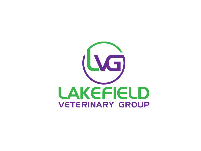 Logo Design by Mohammad azad Hossain - Entry No. 5 in the Logo Design Contest Inspiring Logo Design for Lakefield Veterinary Group.