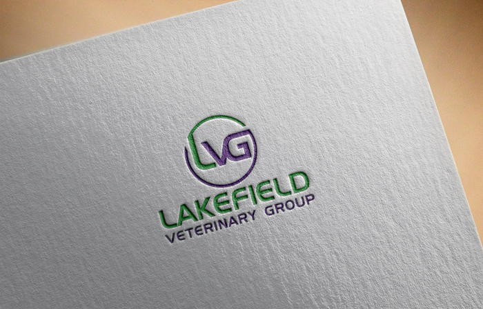 Logo Design by Mohammad azad Hossain - Entry No. 7 in the Logo Design Contest Inspiring Logo Design for Lakefield Veterinary Group.