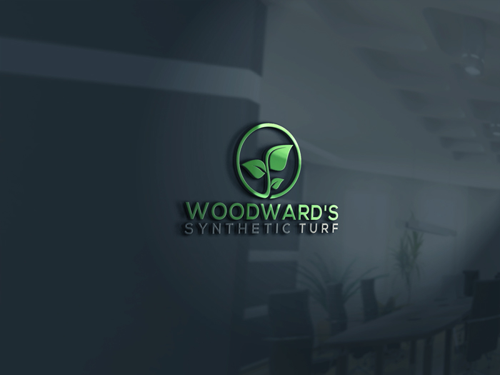 Logo Design by Mohammad azad Hossain - Entry No. 10 in the Logo Design Contest Artistic Logo Design for Woodward's Synthetic Turf.