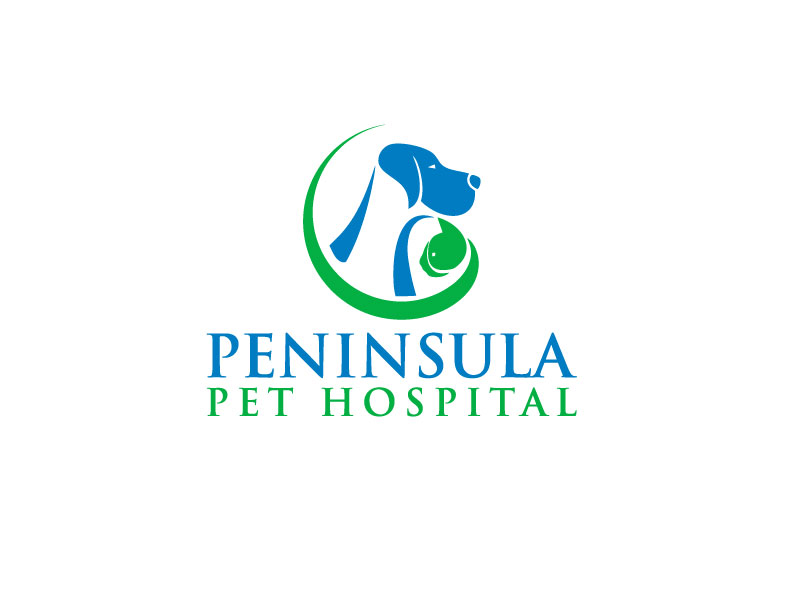 Logo Design by Mohammad azad Hossain - Entry No. 9 in the Logo Design Contest Creative Logo Design for Peninsula Pet Hospital.