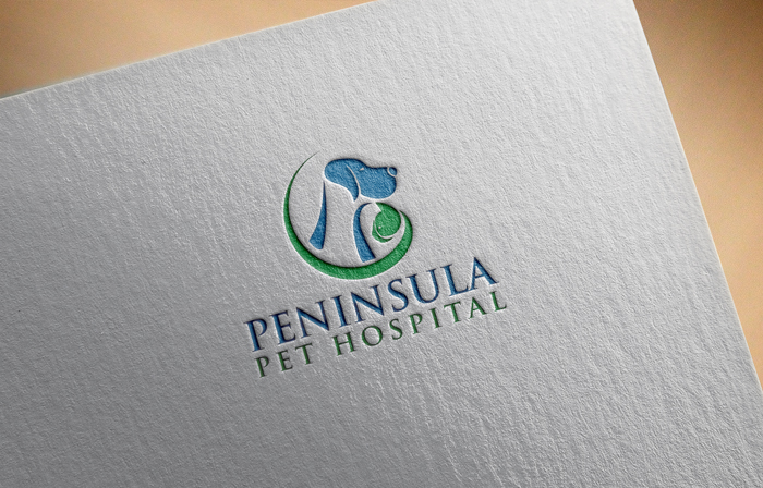 Logo Design by Mohammad azad Hossain - Entry No. 10 in the Logo Design Contest Creative Logo Design for Peninsula Pet Hospital.