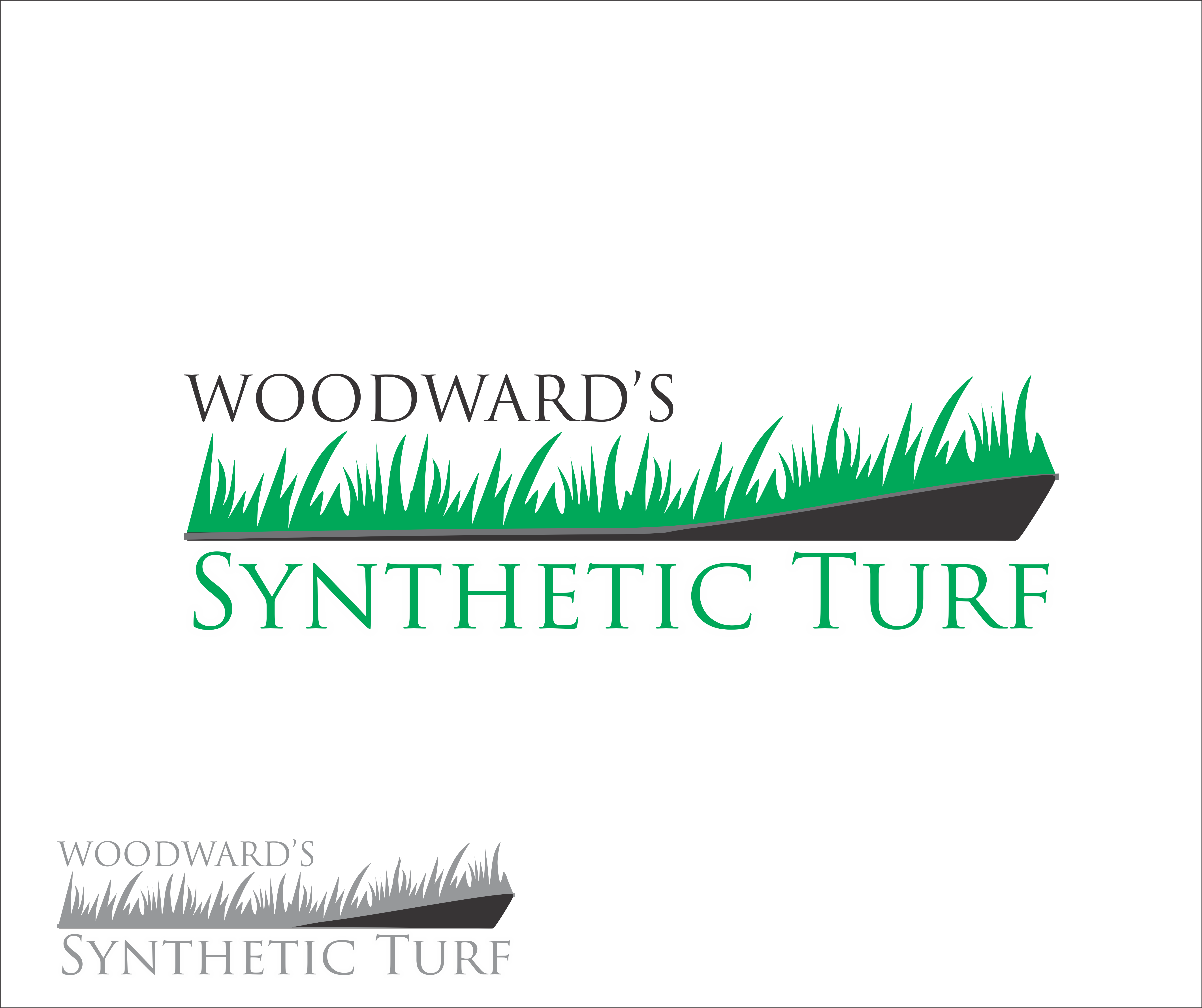 Logo Design by snow - Entry No. 15 in the Logo Design Contest Artistic Logo Design for Woodward's Synthetic Turf.