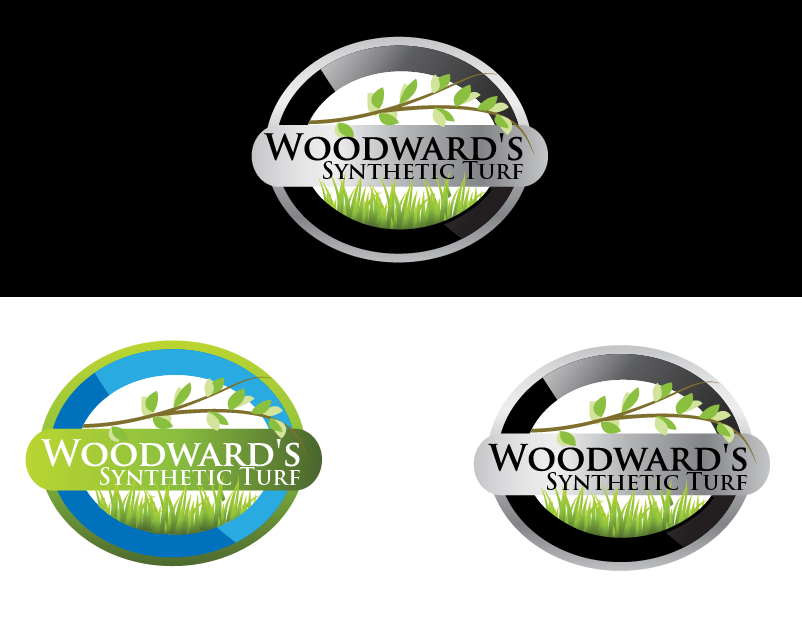 Logo Design by brands_in - Entry No. 23 in the Logo Design Contest Artistic Logo Design for Woodward's Synthetic Turf.