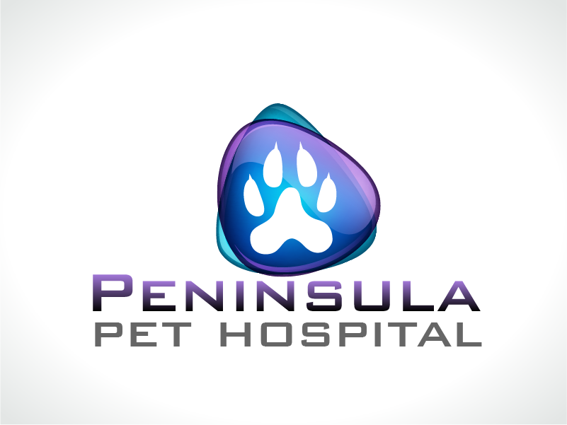 Logo Design by Private User - Entry No. 19 in the Logo Design Contest Creative Logo Design for Peninsula Pet Hospital.