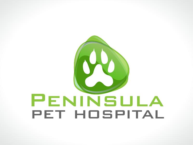 Logo Design by Private User - Entry No. 20 in the Logo Design Contest Creative Logo Design for Peninsula Pet Hospital.