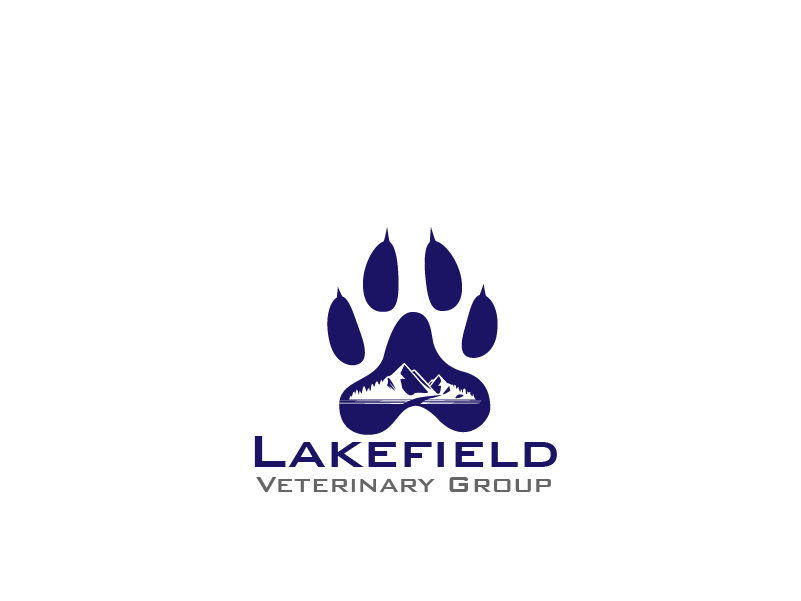 Logo Design by Private User - Entry No. 10 in the Logo Design Contest Inspiring Logo Design for Lakefield Veterinary Group.